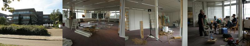 atelierverhuizing van Ann Hoogendoorn